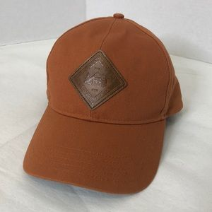 REI Baseball Hat With Leather Patch